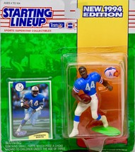 1994 Kenner Starting Lineup NFL Lorenzo White #44 Houston Oilers Action ... - $9.99