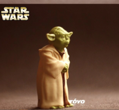 Star Wars Action Figure Toys Jedi Knight Master Yoda PVC Action - $19.79