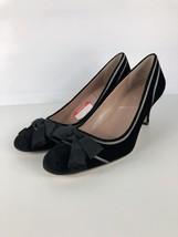 Venice Heels Sz Womens Shoes 9M Tahari Dress with Black Velvet Bow UPdqwRx