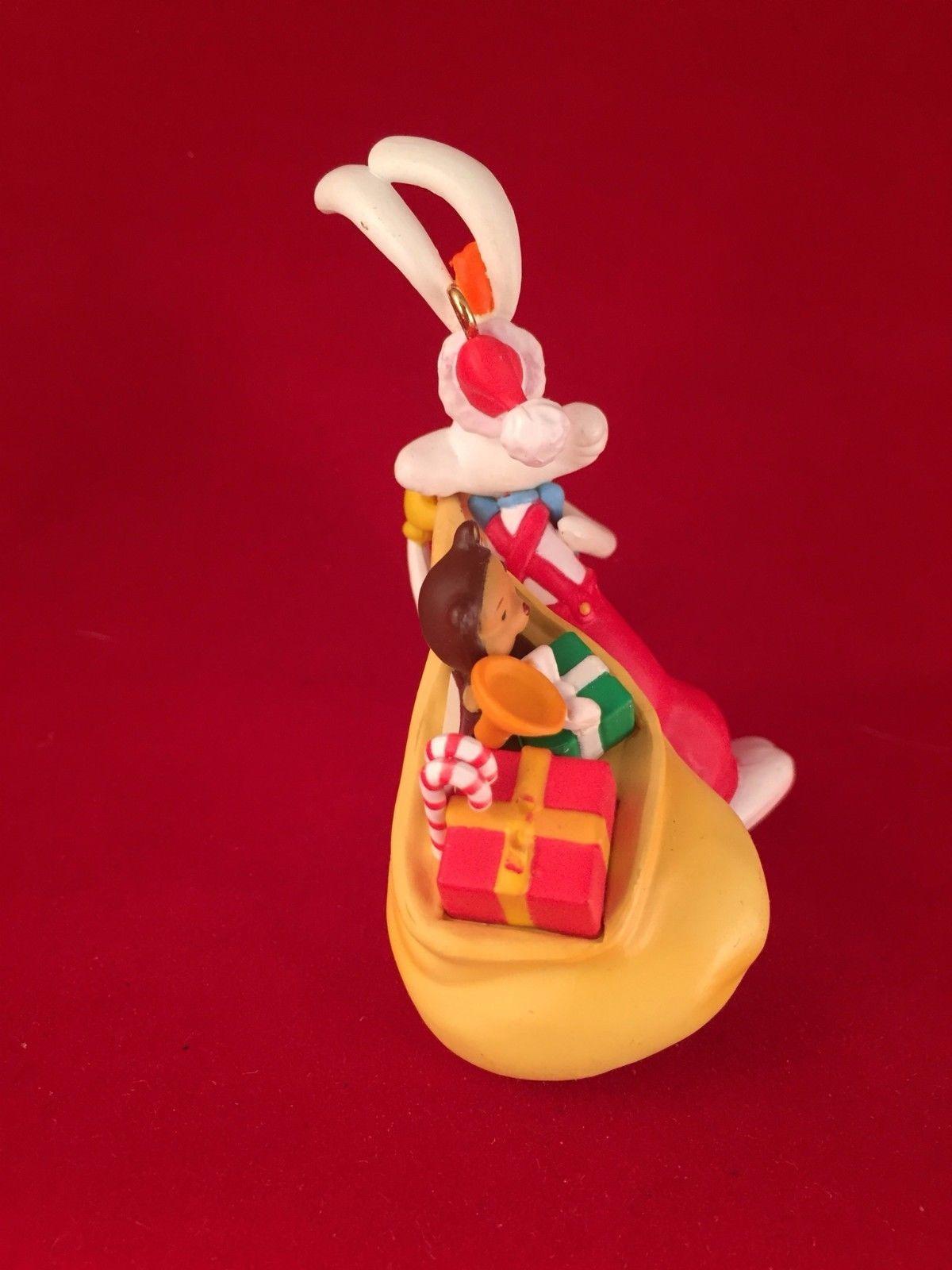 Roger Rabbit Disney Grolier Christmas Magic Ornament 115 Who Framed Roger Rabbit