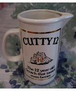 Cutty Sark 12 year old Scotch Whisky Souvenir Pitcher Ship - $19.99