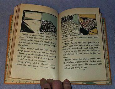 Making Visits Children's 1939 Old Vintage School Reader Book