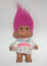 Troll TNT Pink Hair and Floral Dress  - $8.00