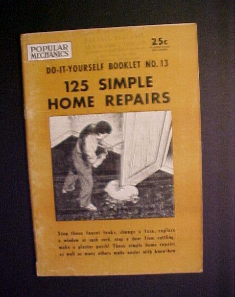 125 simple home repairs pop.mechanics