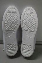 NIB NEW Women sz 8.5 Converse Shoe Sneaker White Teal Peony Box CTAS OX image 6