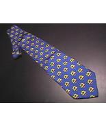 Alynn Neckwear Neck Tie Husqvarna Viking Sewing Machine Blue and Bright ... - $10.99