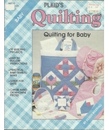Plaids Quilting for Baby 10 Quilt Projects Hand Machine Diaper Tote - $3.93
