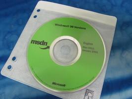 Genuine Microsoft MSDN Windows 98 Versions English 2001  - $9.95