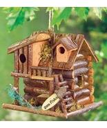 Gone Fishin' Birdhouse  7 inch wood  - $8.99