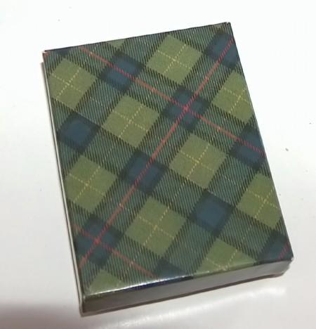 Scottish Thistle Pewter Cufflinks