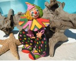 Pottery_clay_clown_figurine_polka_dots_hearts_cap_thumb155_crop