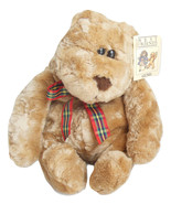 Stuffed Plush Animal Bear By Gund Best Friends Light Brown Slouchy Teddy - £14.62 GBP