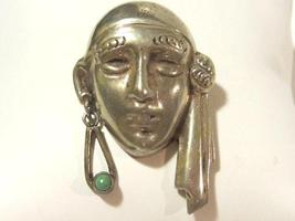 Vintage Mexican sterling silver brooch - $52.00