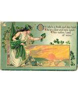 She Is a Fresh Fair Land 1913 Vintage Post Card - $3.00