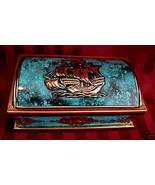 Vintage HARRY VINCENT BLUE BIRD Candy Tin SHIP Souvenir Collector Collec... - $17.95
