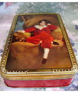 Vintage Wilkins RED BOY Toffee Tin MASTER LAMBTON Souvenir Collector Col... - $17.95