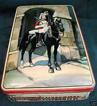 Vintage GREAT BRITAIN GUARDS HORSE ENGLAND Biscuit Cookie Tin Souvenir C... - $14.95