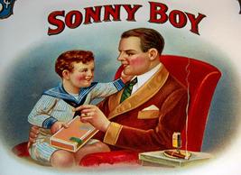 Sonny Boy Embossed Inner Cigar Label, 1910's - $5.99