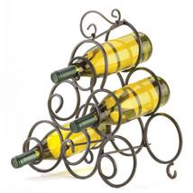 Scrollwork Wine Rack 10032405 - $30.25