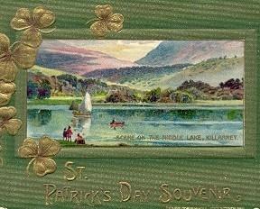 St Patricks Day Souvenir John Winsch Post Card