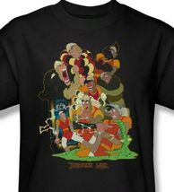 Dragons Lair t-shirt Dirk retro 80's classic arcade game graphic tee DRL107 image 3