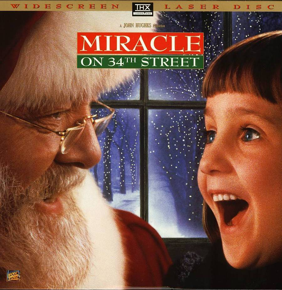 MIRACLE ON 34TH STREET LTBX 1994 - LASERDISC RARE