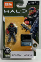 NEW 2020 Mega Construx Halo Infinite SPARTAN MARK VII Series 12 - $17.41