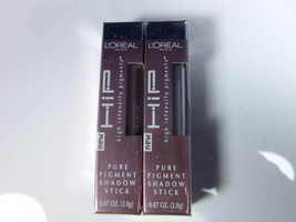 L'Oreal HiP Pure Pigment Eye Shadow  108  2 PACKS SALE - $6.92