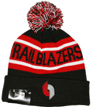 Portland Trail Blazers New Era HWC Biggest Fan Pom Cuff Knit Beanie Cap NEW - ₹1,991.27 INR
