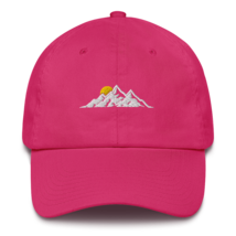 MOUNTAINS HAT / MOUNTAINS EMBROIDERED HAT / MOUNTAINS EMBROIDERED CAP / COTTON C image 6