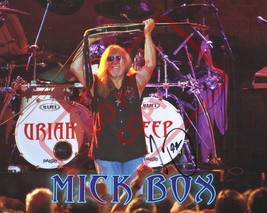 8.5x11 Autographed Signed Reprint RP Photo Mick Box Uriah Heep - $12.90
