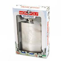 MONOPOLY COLLECTION FLASK AND FUNNEL - $20.00