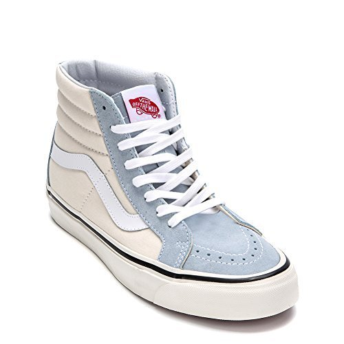 Vans Unisex UA SK8 38 DX High Top Sneakers (US 8.5 D Men / 10 B Women, Light Blu