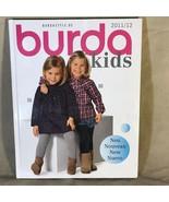 Burda Kids 2011/12 Sewing Pattern Hardcover Catalog - $8.90