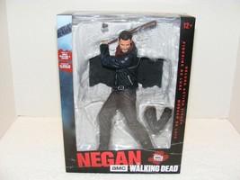"Nib Mc Farlane 2017 The Walking Dead Negan 10"" With Lucille Action Figure - $49.99"