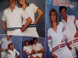 Sports Sweater Cardigan Pullovers Knitting Patterns - $9.99