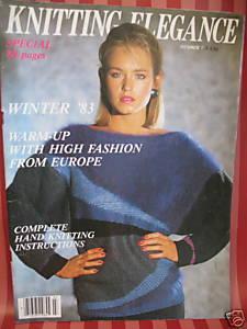 ANNY BLATT KNITTING 32 Patterns Magazine WOMEN Bonanza