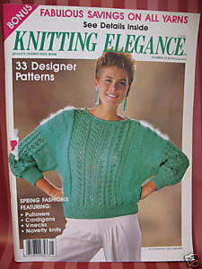 ANNY BLATT KNITTING 33 Patterns Magazine WOMEN & MEN Bonanza