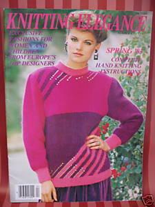ANNY BLATT KNITTING 30 Patterns Magazine WOMEN & CHILD Bonanza