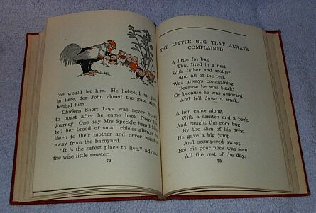 Tiny Tales and other Stories Children's Old 1929 School Reader Book