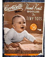 Vintage KNITTING Patterns CORTICELLI BABY - 6 YRS. - $5.99
