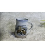 Owl Pottery Mug Appears to be hand  made for Owl Lovers - $14.85