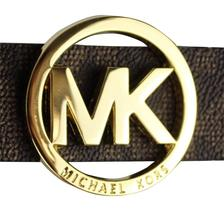 Michael Kors Women's Signature Reversible Circle MK Logo Belt 551342 image 7