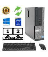 Dell Optiplex Desktop PC 7010 Windows 10 Intel i5 Quad Core 4GB RAM, 500... - $129.99