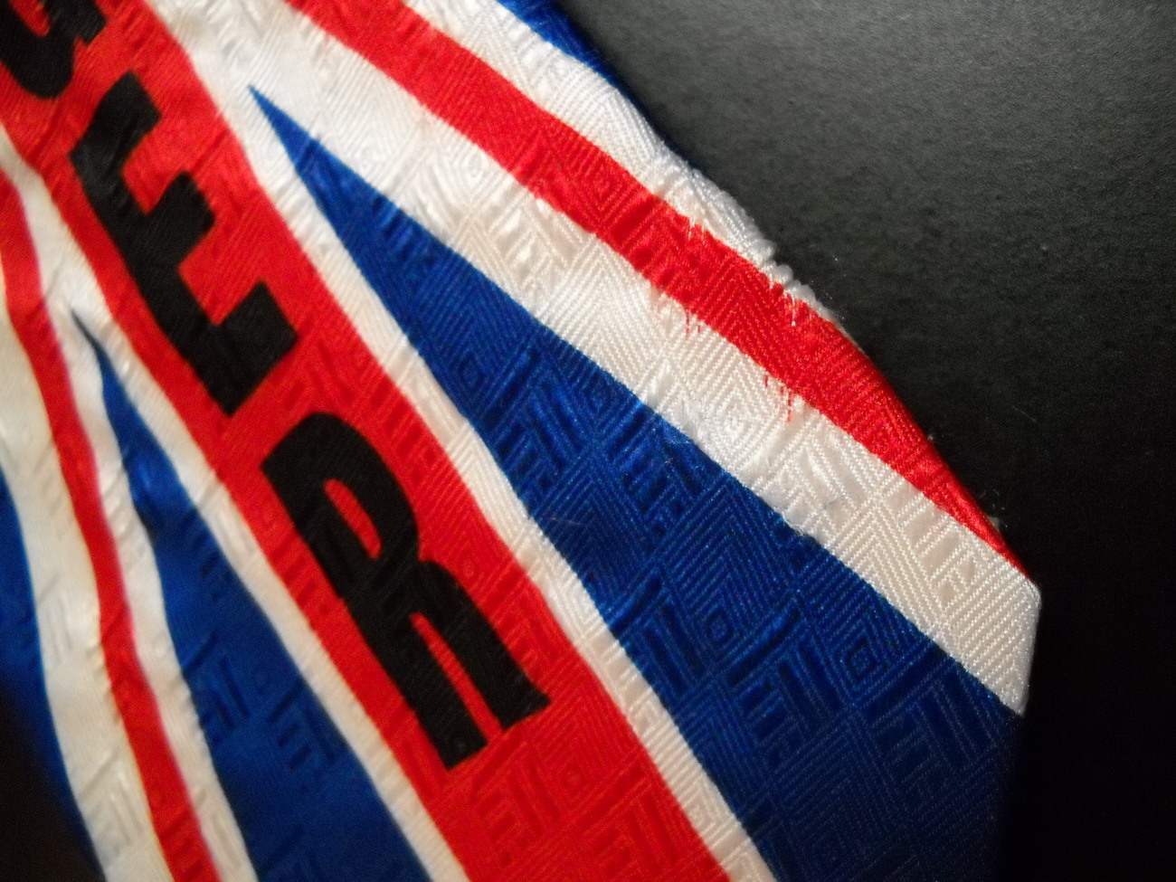 Ralph Marlin Austin Powers Neck Tie British Swinger 1999 New Line Productions