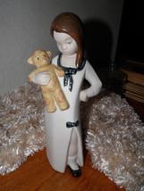 Vintage REX Porcelain Statue Made In SPAIN Girl... - $41.58