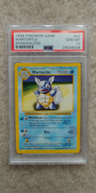 Pokemon Wartortle 42/102 Shadowless Base Set PSA 10 1999 Pokemon TCG - $84.99