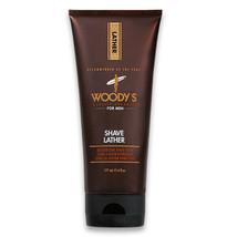 Woodys Shave Lather Moisturizing Shave Cream,  6 oz