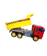Friction Powered Construction Vehicle Dump Truck Construction Vehicle, T... - $11.52