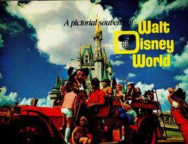 Walt Disney World  -.  (1972 Disney World Pictorial Souvenir) - $12.95